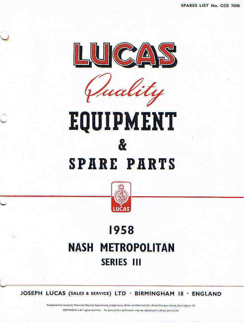 1957 Nash Metropolitan Wiring Diagram   Wiring Liry Nash Metropolitan Wiring Diagram on